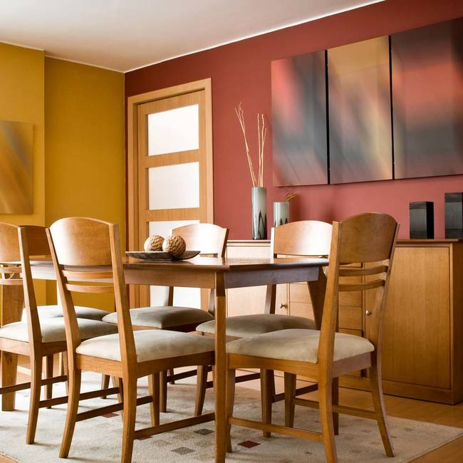 Popular colors for dining