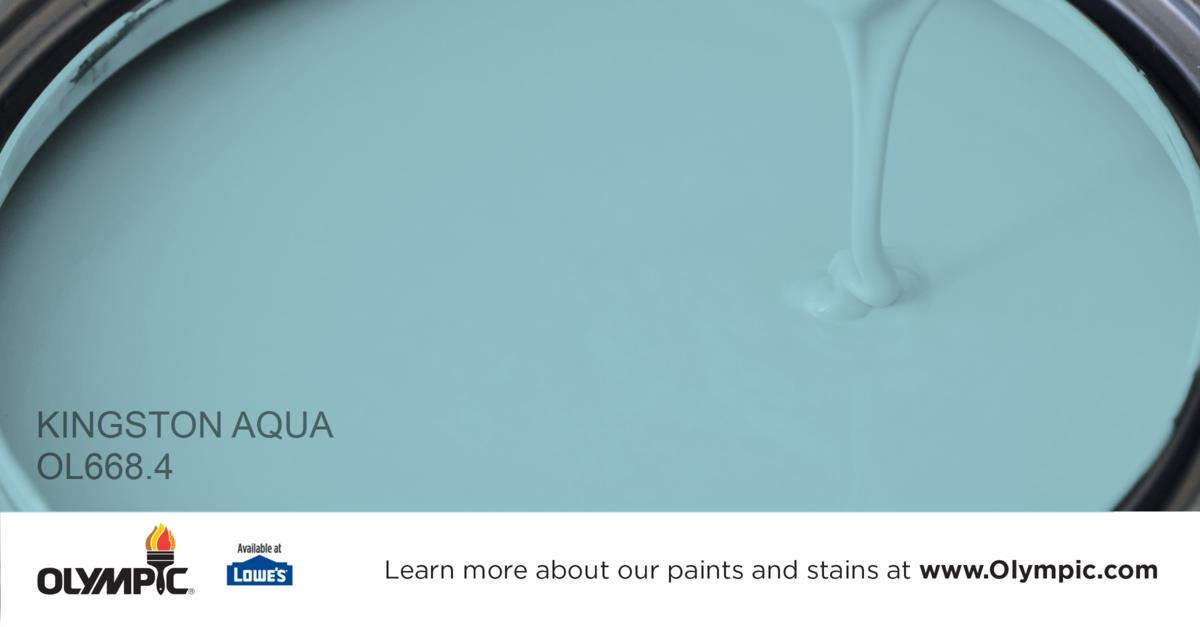aqua paint colorsKingston Aqua