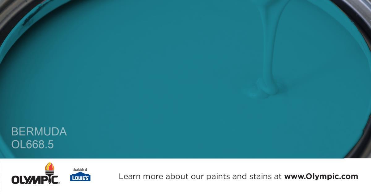 Aqua Sparkle Paint Color Olympic