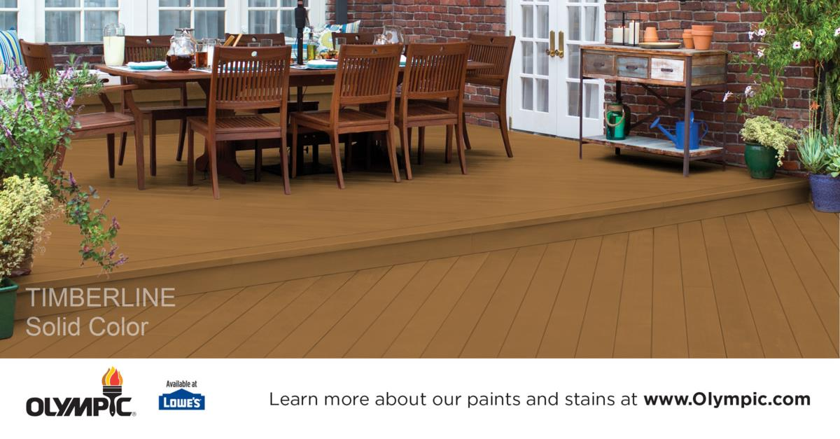 Deck Stain Colors Semi Transparent