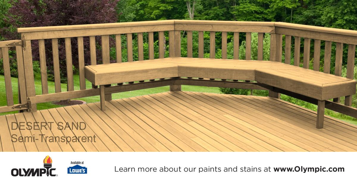 Brown Deck Stain Colors