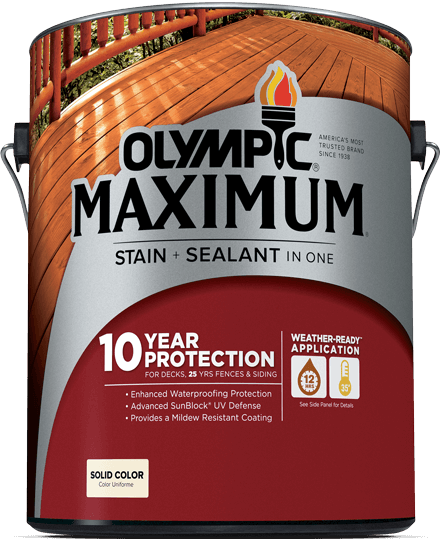 Olympic Maximum Solid Color Stain Review